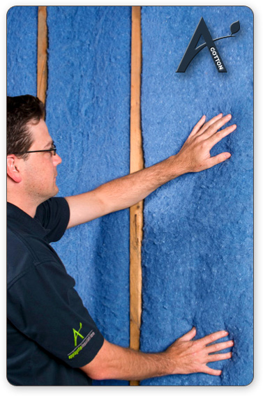 Building Performance Solutions's new Cotton Blanket Insulation makes going Green easy!